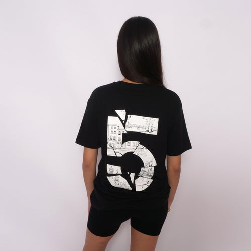 "Image of T-shirt "" Cinko "" Black"