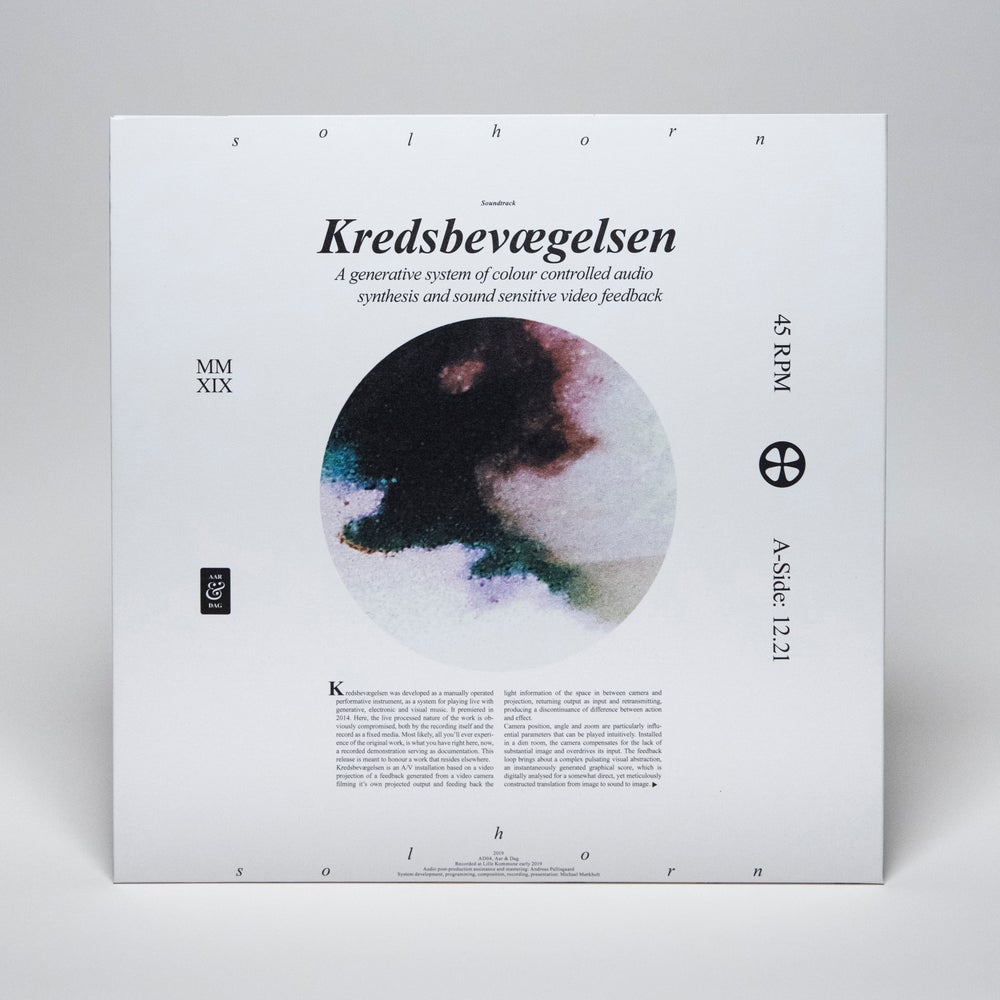 """Image of Michael Mørkholt - Solhorn: Kredsbevægelsen (12"""" 45rpm + digital video)"""