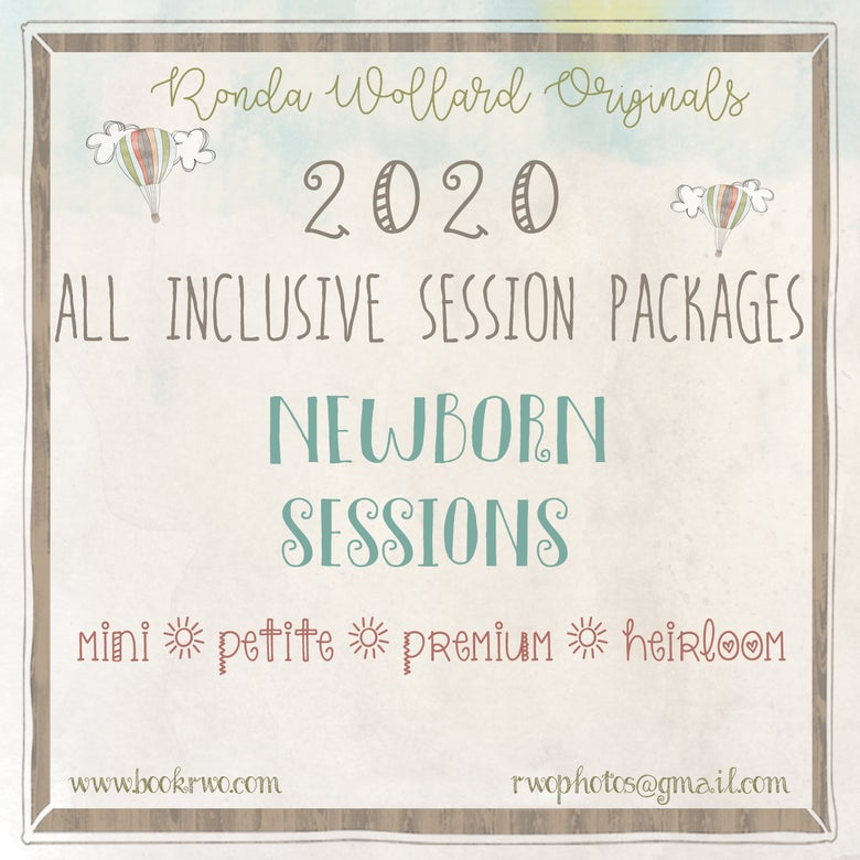 Image of 2020 All Inclusive NEWBORN Packages