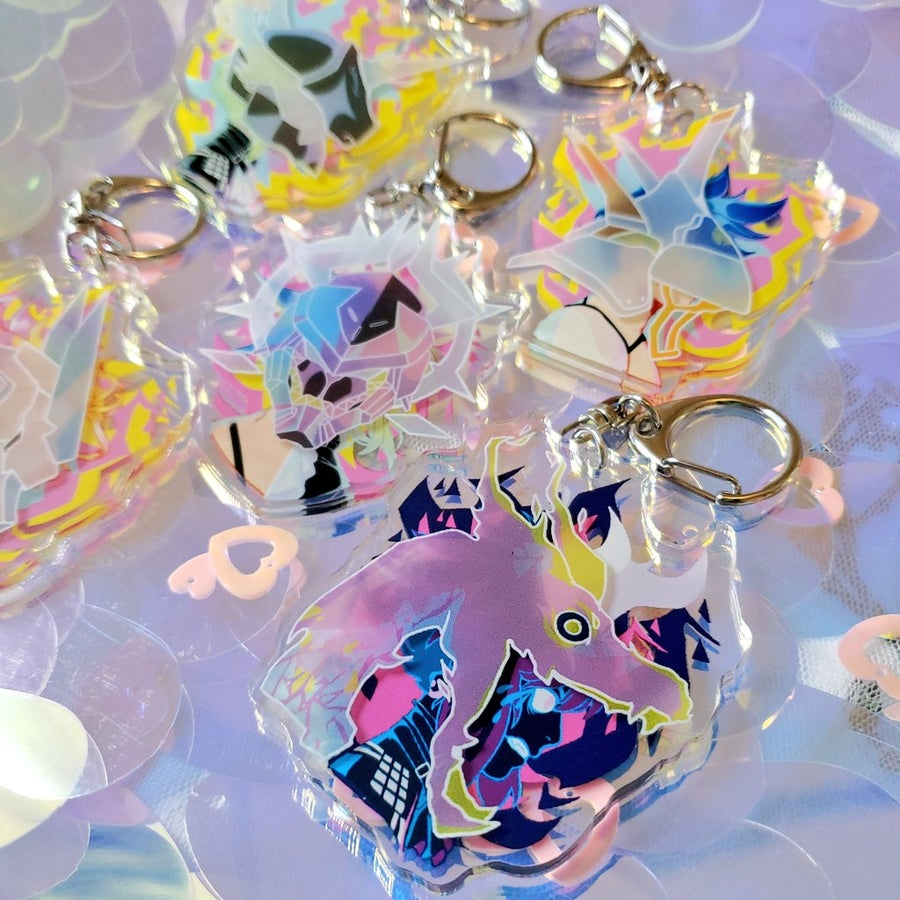 Image of Promare 3D Charms