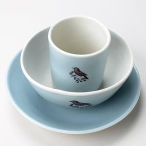 Image of 10oz tumbler, bowl, plate, in ocean