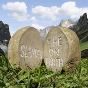 Image of Slender- Time on Earth LP