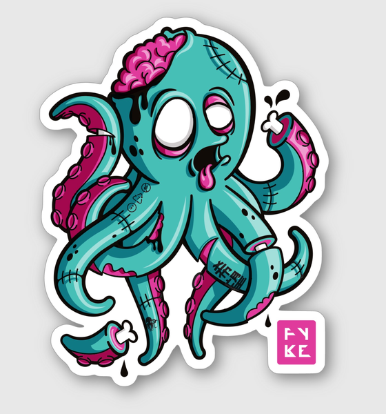 Image of ZOMBIE FYKO STICKER