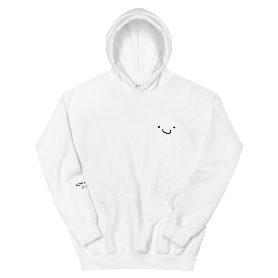 Image of Don't forget to Smile Hoodie
