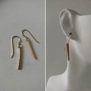 Image of mini spike earrings