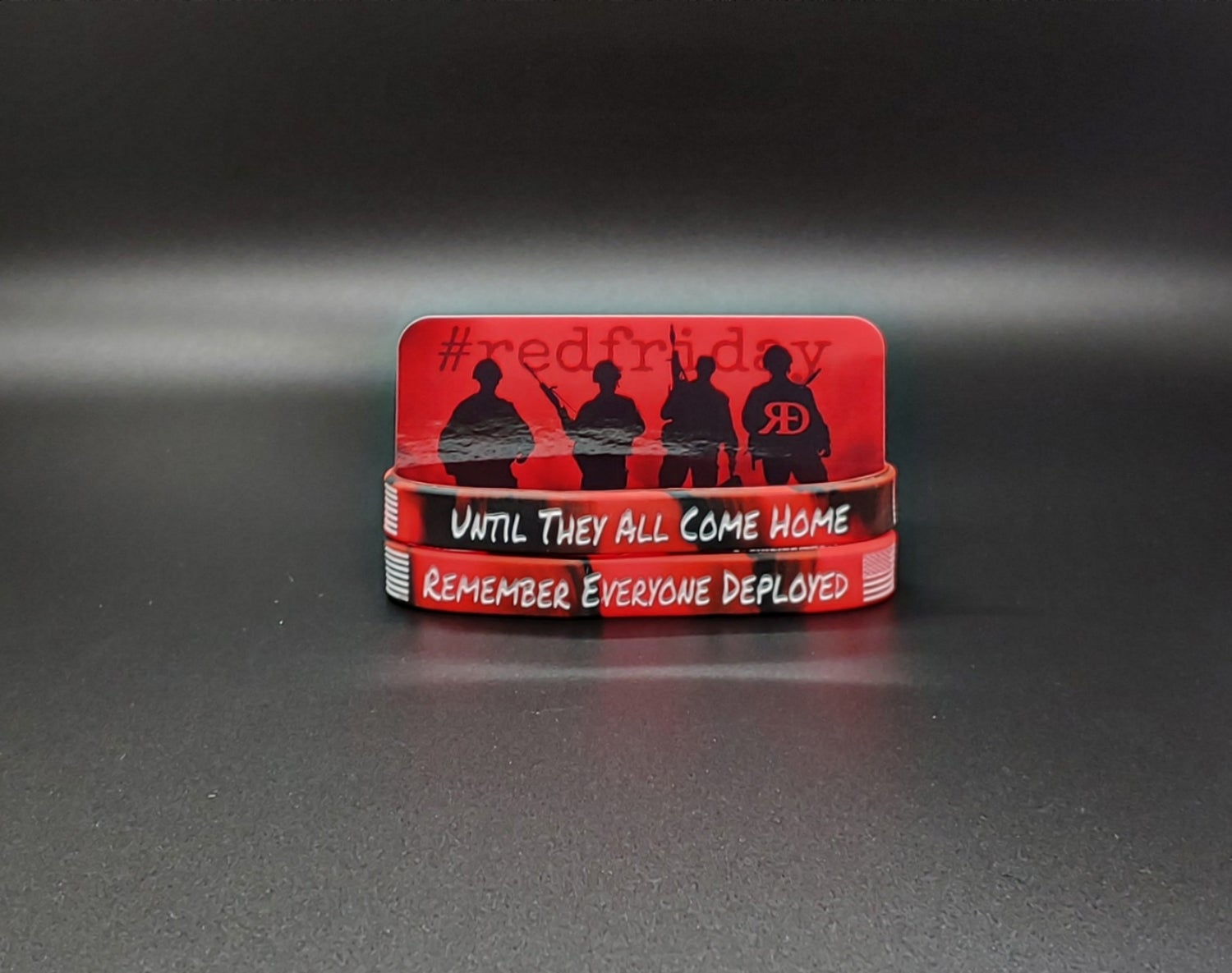 R.E.D. Silicon Wristbands