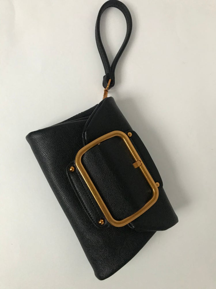 Image of Gold Buckle purse