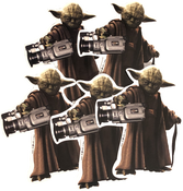 Image of SK8RATS YODA VX1000 Stickers (5 Pack)