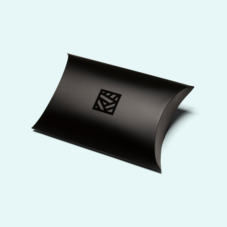 Image of 'UNDERNEATH THE FLOW' - Silk Twill Scarf, 90 x 90cm
