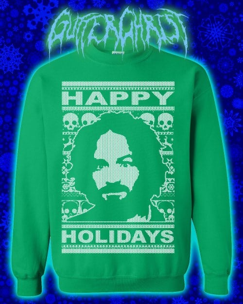 Image of CHARLIE HAPPY HOLIDAYS SWEATER (PREORDER SHIPS DEC 18TH)