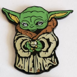 Image of The Child  SHINY Lapel Pin PREORDER