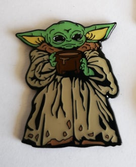 Image of The Child  Drinking Soup Lapel Pin PREORDER