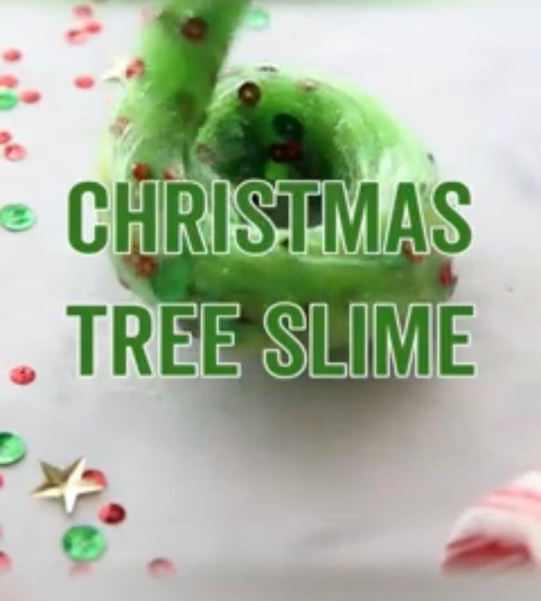 Image of Christmas slime Wednesday 18 December  9 -12