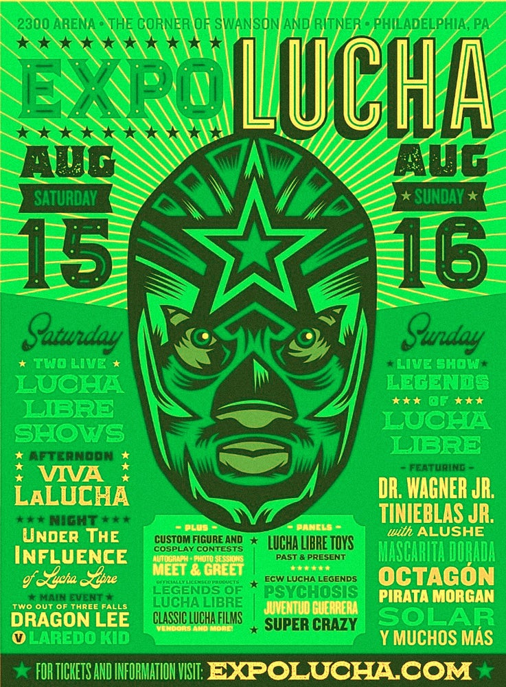 Image of Expo Lucha: Philadelphia Saturday - All Day Pass