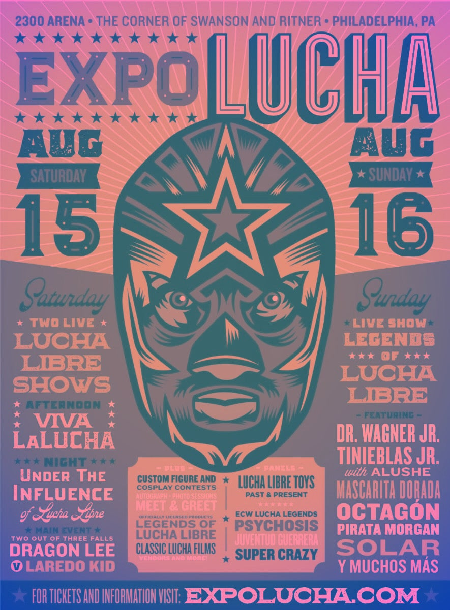 Image of Expo Lucha: Philadelphia Saturday Expo Only