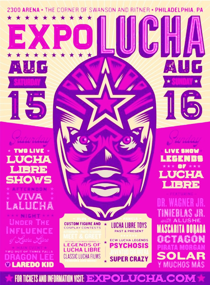 Image of Expo Lucha: Philadelphia Sunday All Day Pass