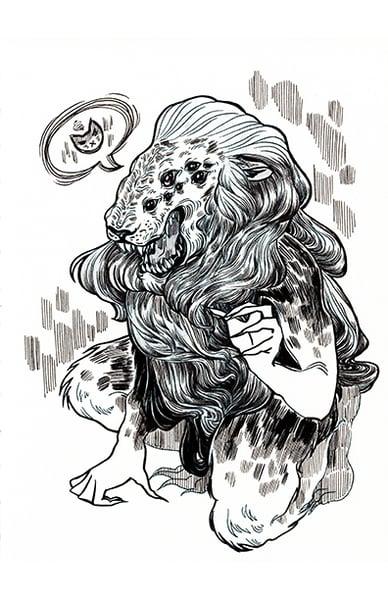 "Image of ""Lion"" Print"