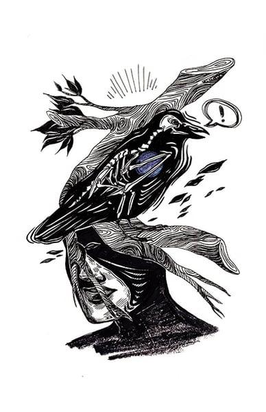 "Image of ""Raven"" Print"