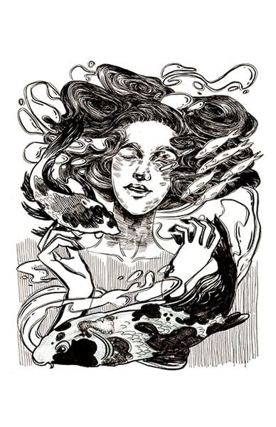 "Image of ""Swim"" Print"