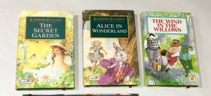Image of Secret Garden, Alice in Wonderland, Wind in the Willows Book Wallets