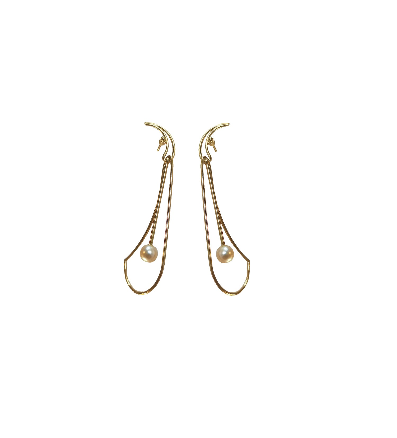 Image of Bobeche earring