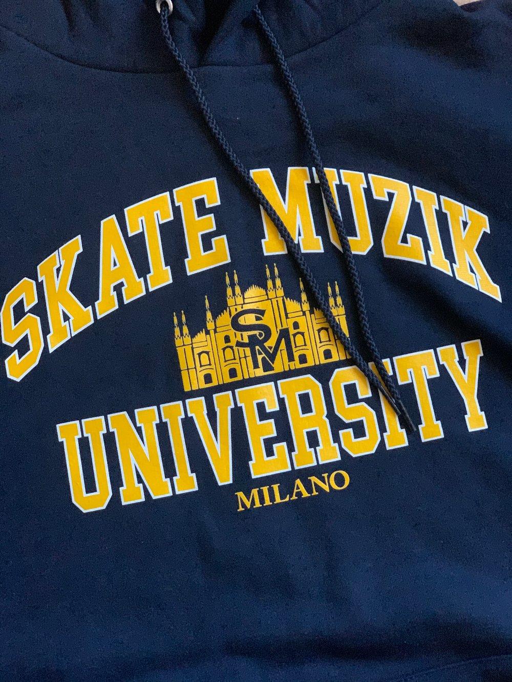 Image of Skate Muzik University hoodie
