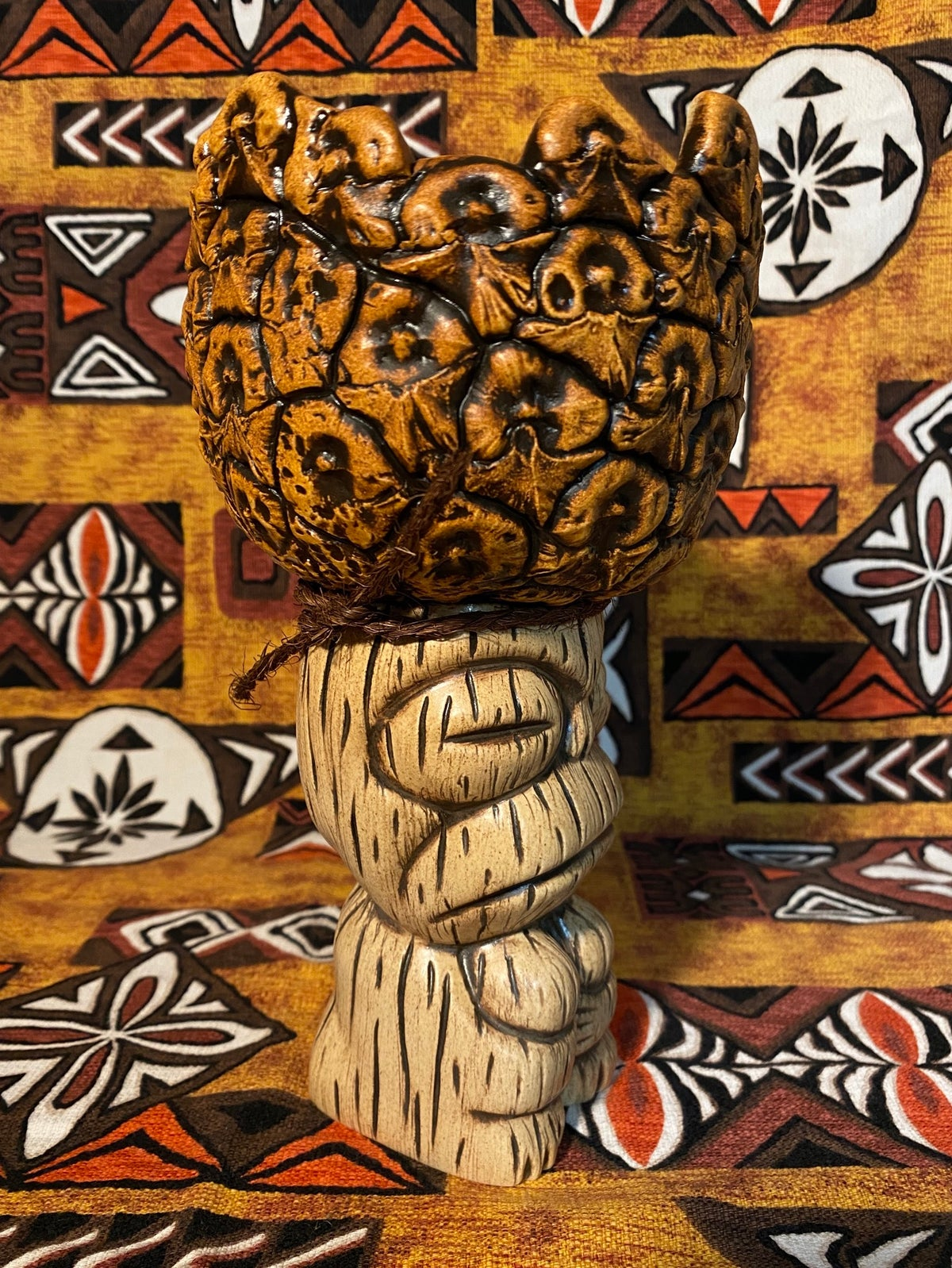 Image of Custom Funky Monkey Pineapple Mug