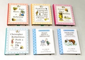 Image of Winnie the Pooh Book Wallets