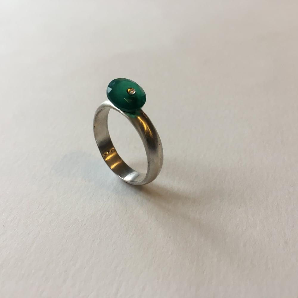 Image of Drilled Gem Ring