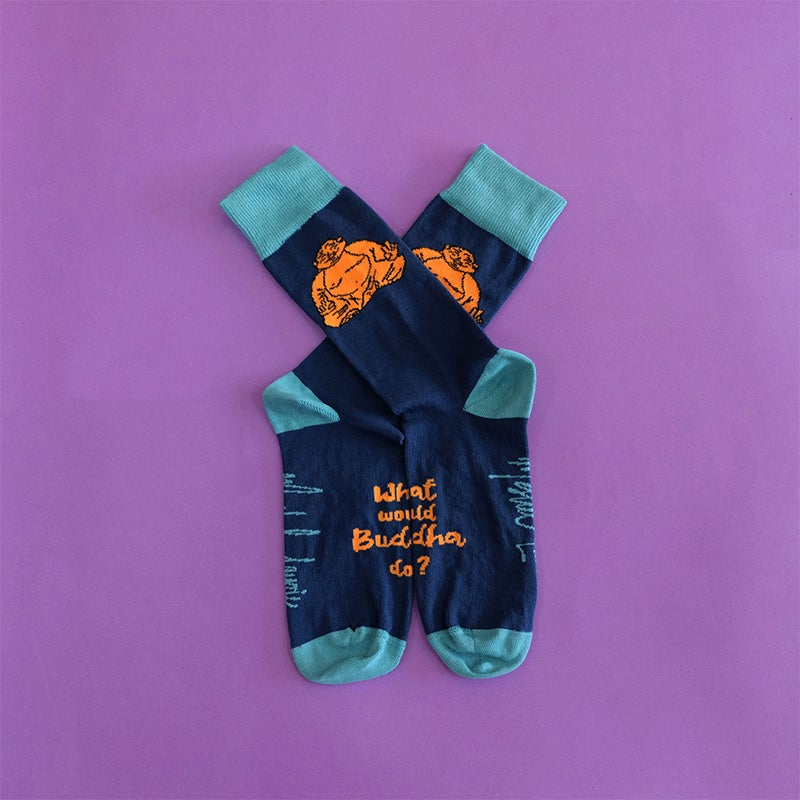 Image of What Would Buddha Do? Socks