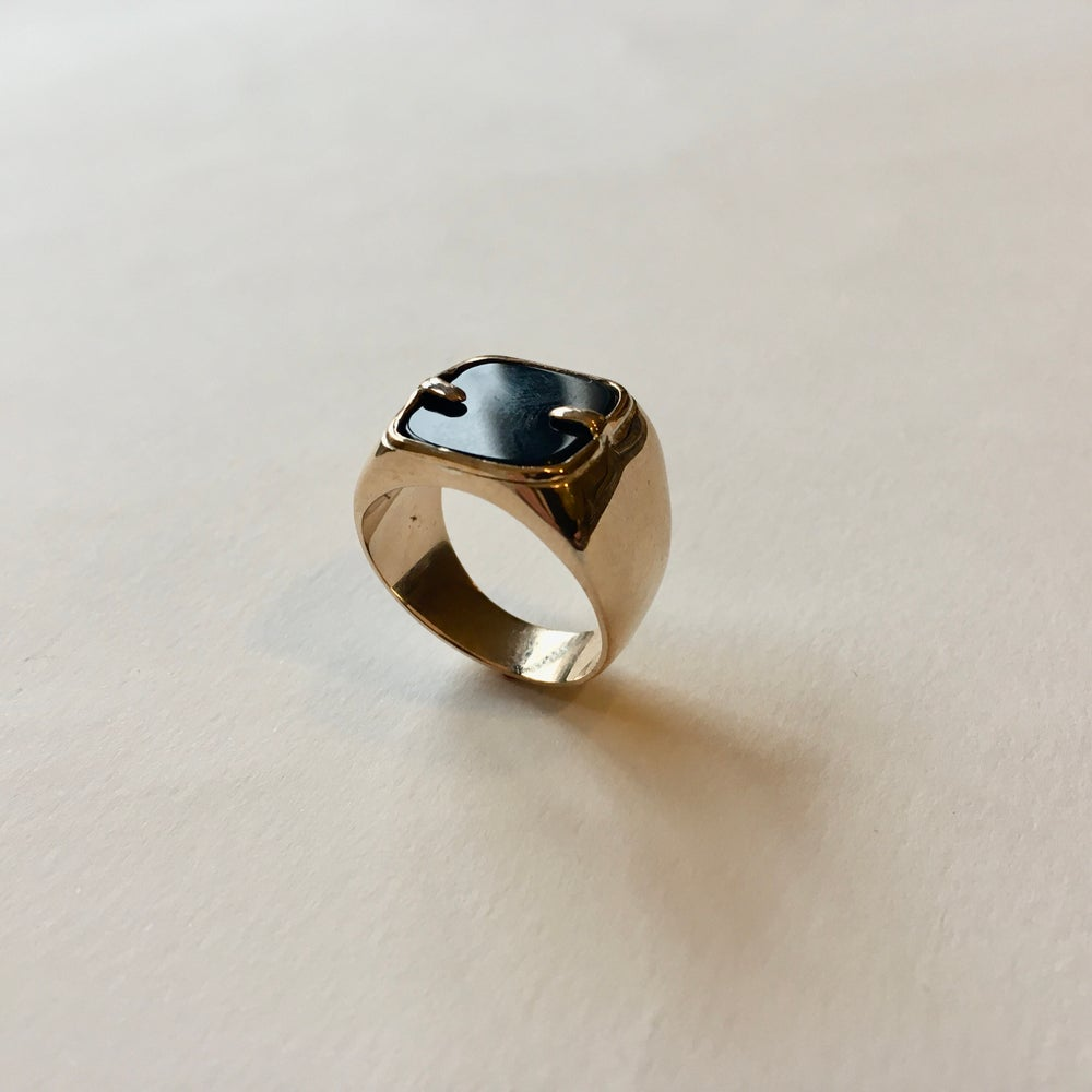 Image of Envelope Signet Ring