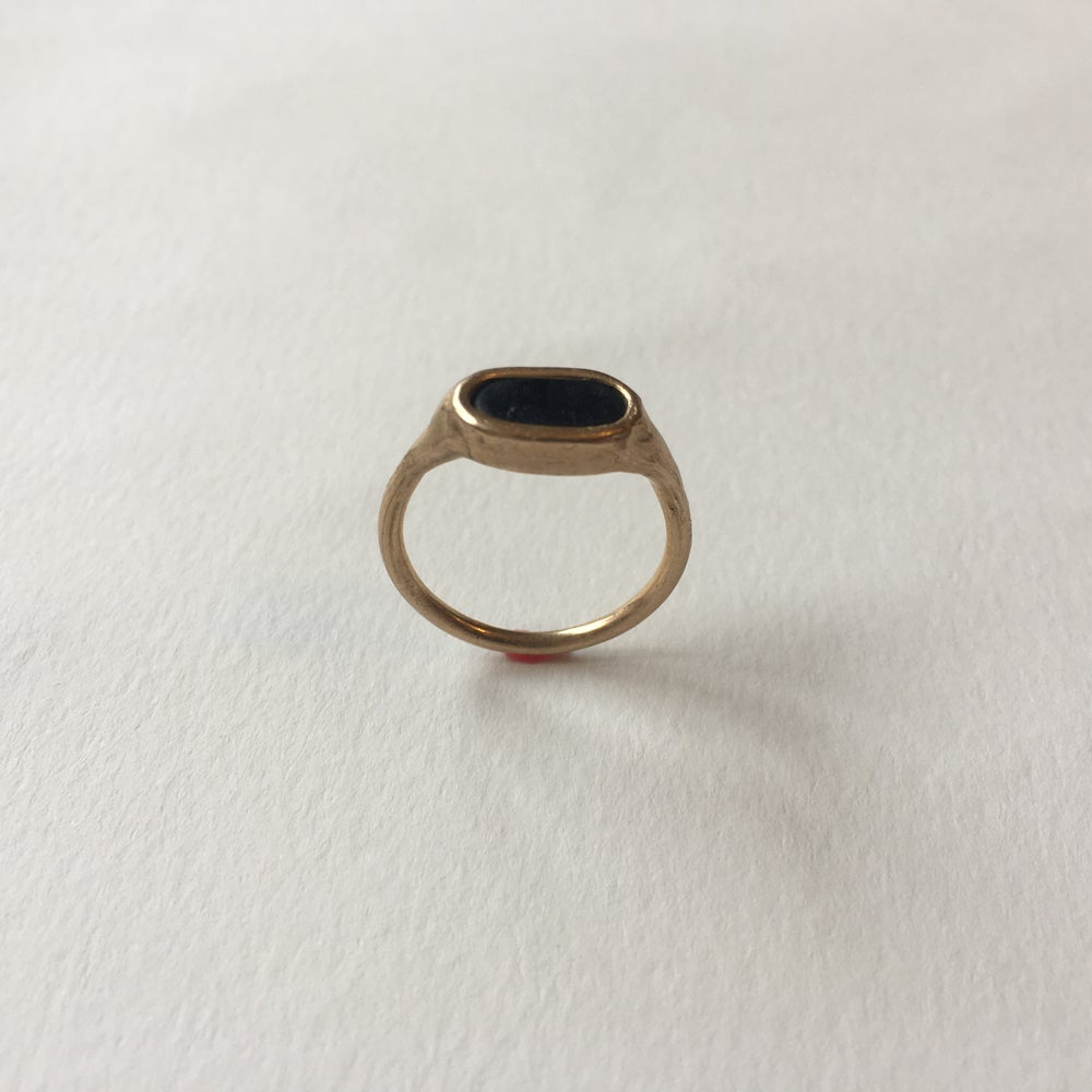 Image of Whitby Jet Rings