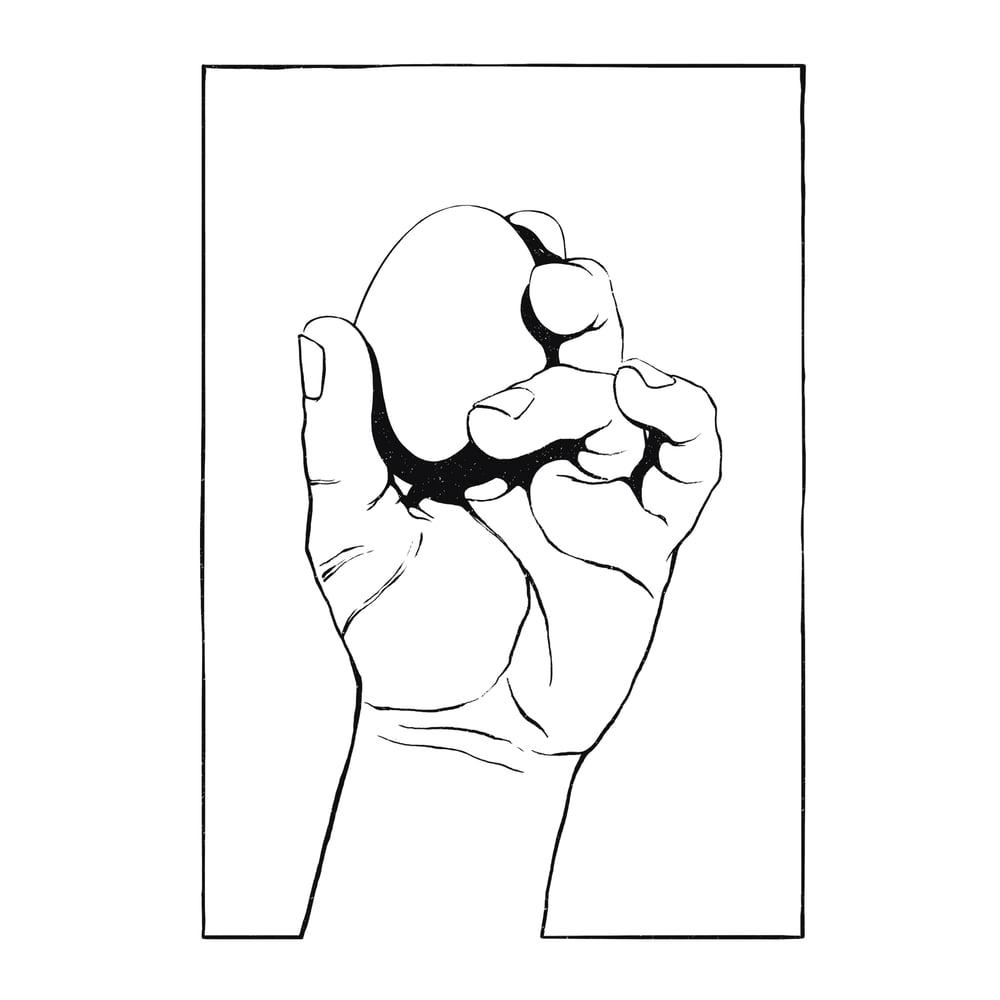 Image of Frail - A4 Giclée print