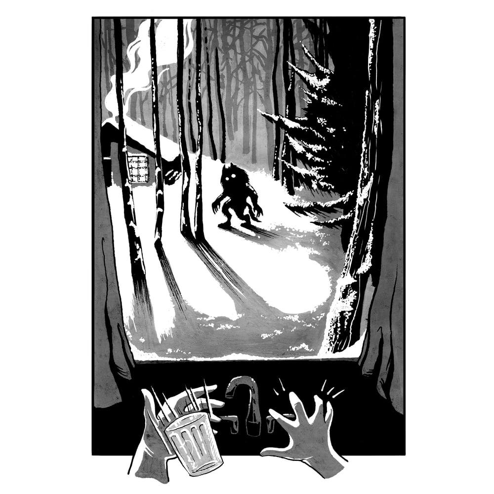 Image of SNOW - A4 Print