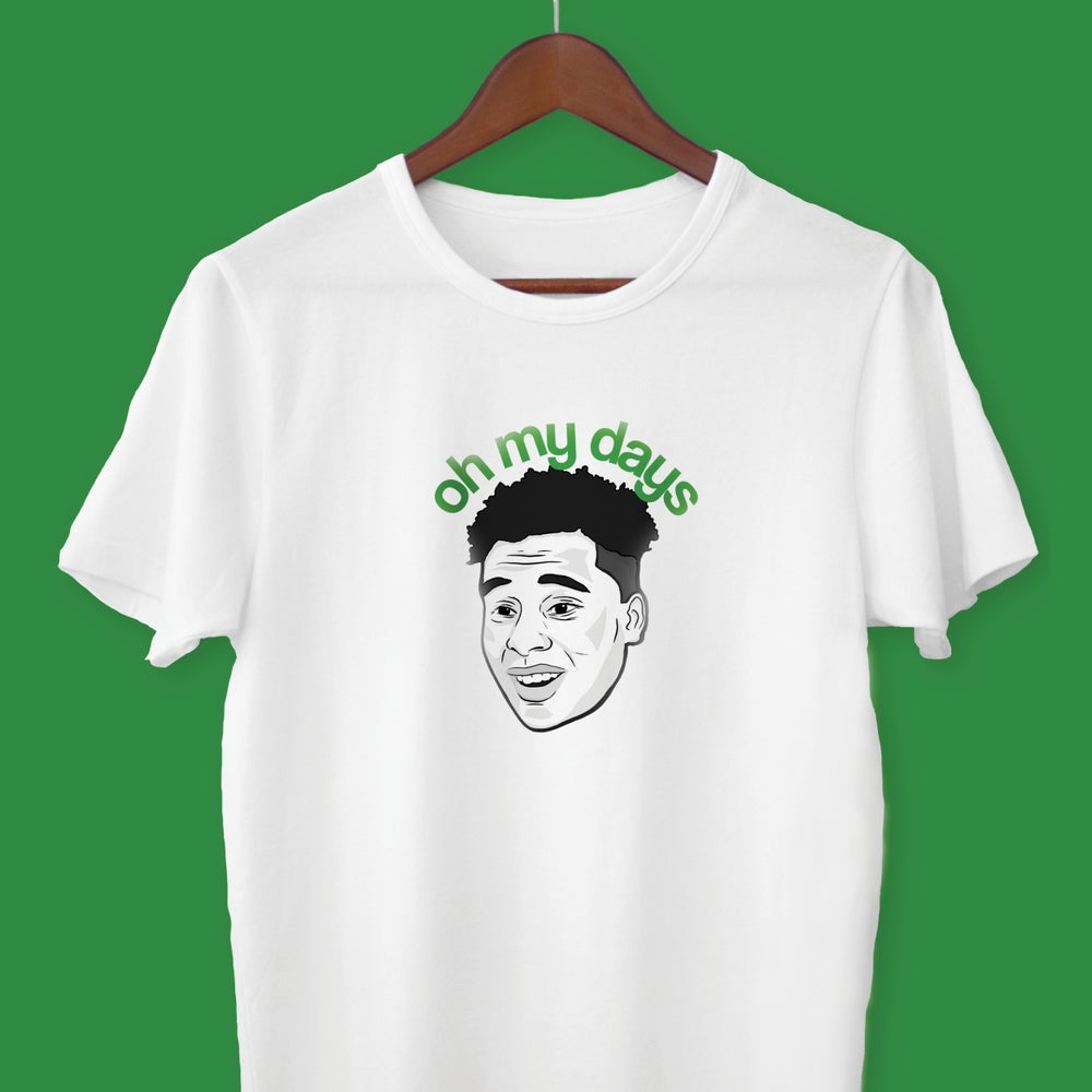 Image of Jeremie Frimpong 'Oh My Days' t-shirt