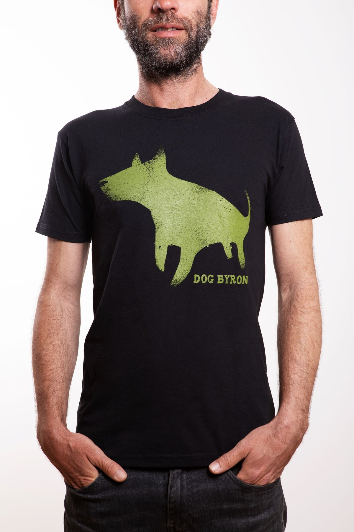 Image of Dog Byron - UNISEX - Light Green Logo