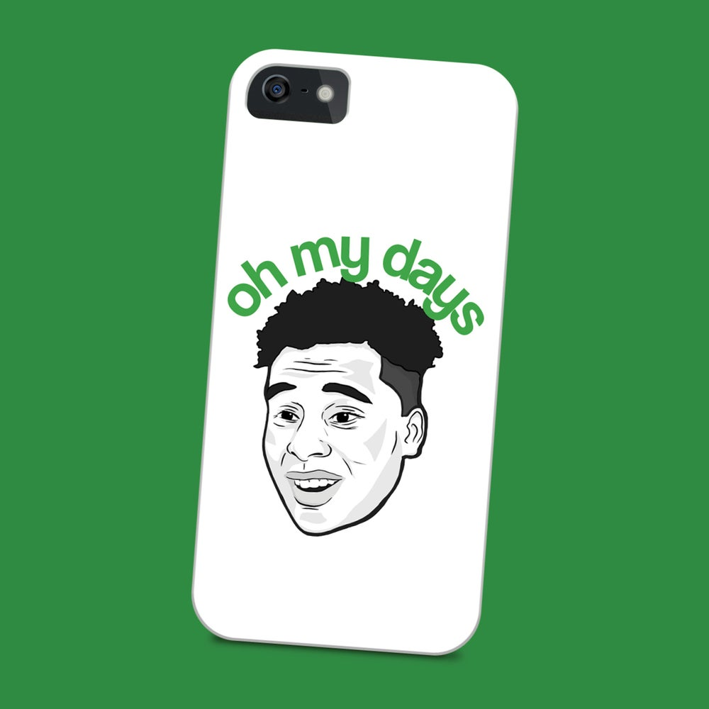 Image of Jeremie Frimpong 'Oh My Days' phone case