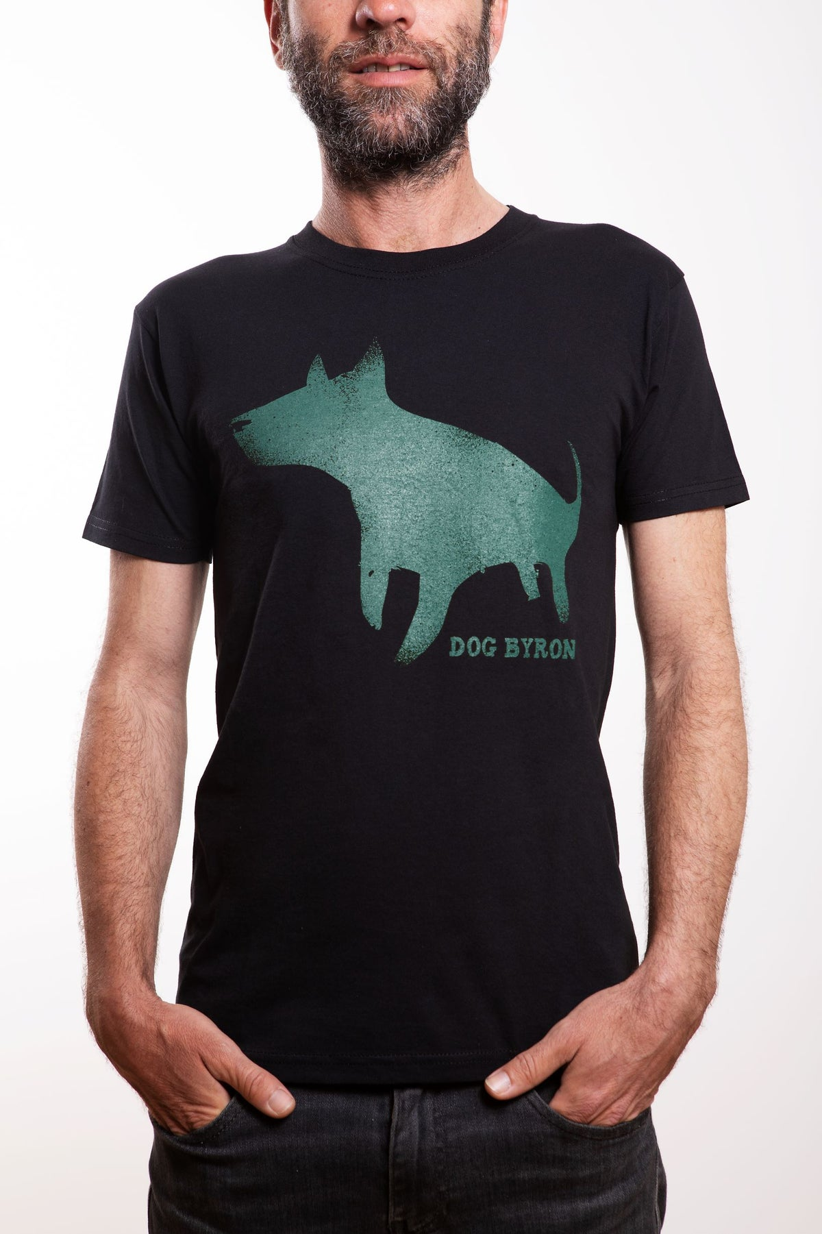 Image of Dog Byron - UNISEX - Green Logo
