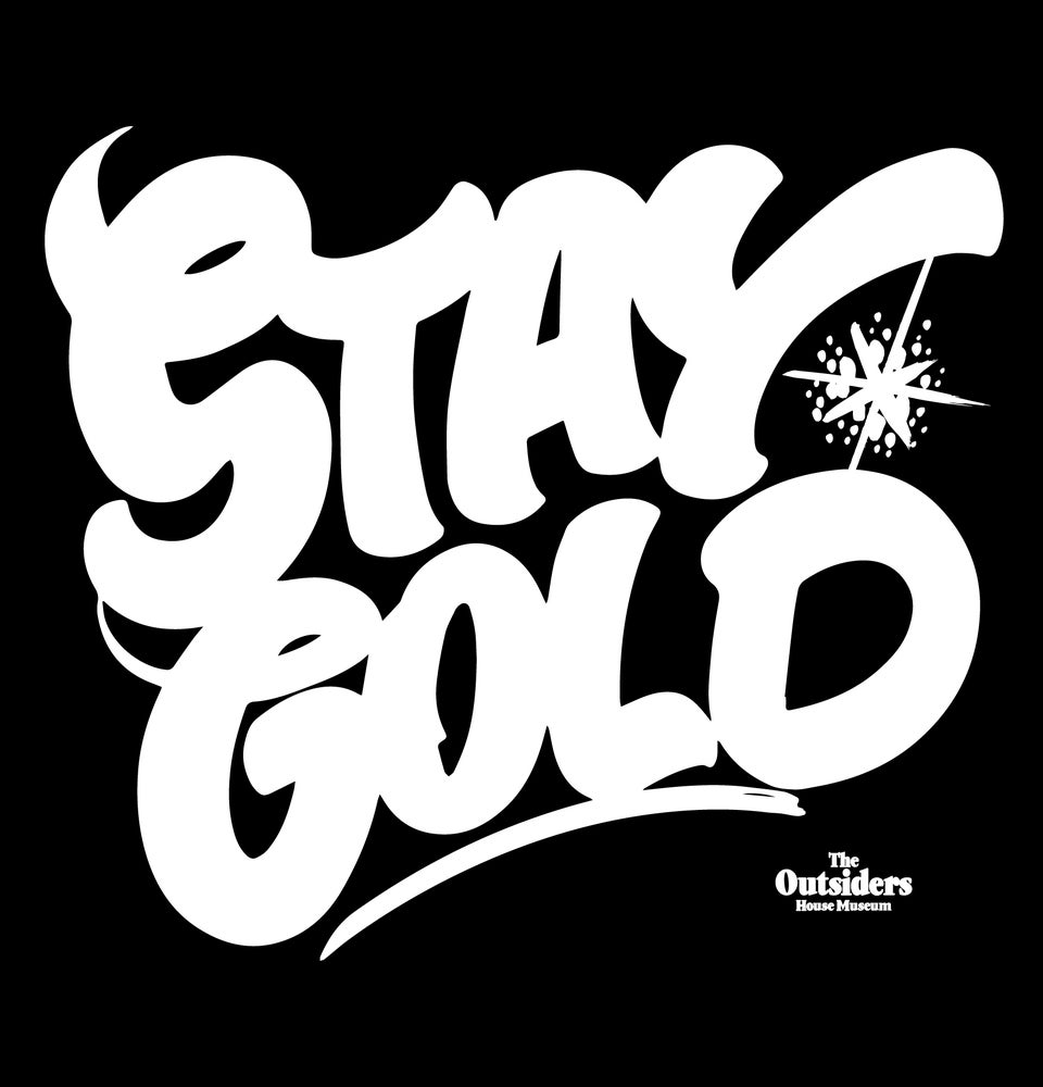 Image of Stay Gold by Brooklyn Artist Peter Paid