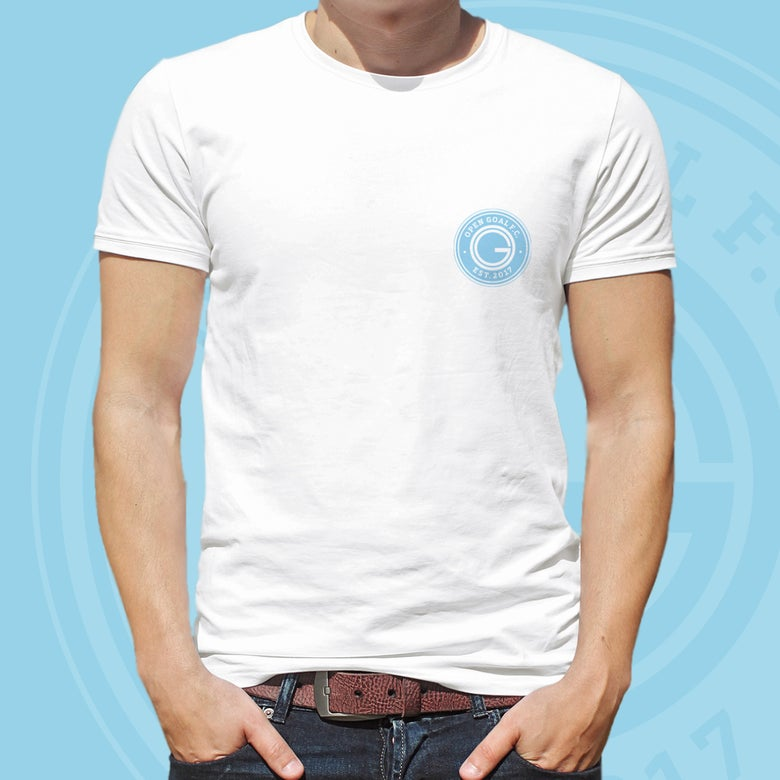 Image of Open Goal FC Tshirt (White)