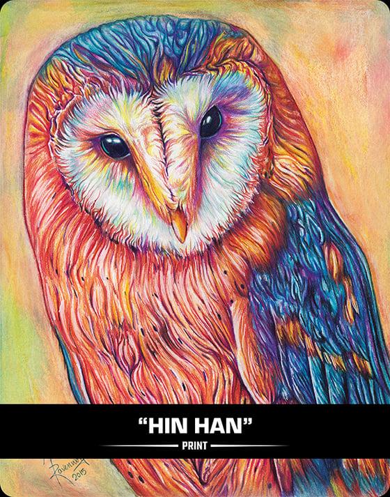 Image of HIN HAN (OLD OWL WOMAN) - Print