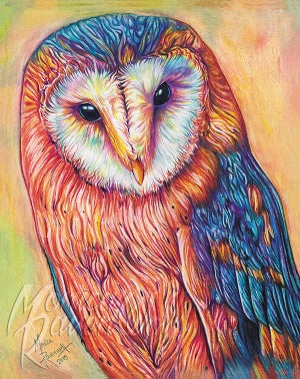 HIN HAN (OLD OWL WOMAN) - Print