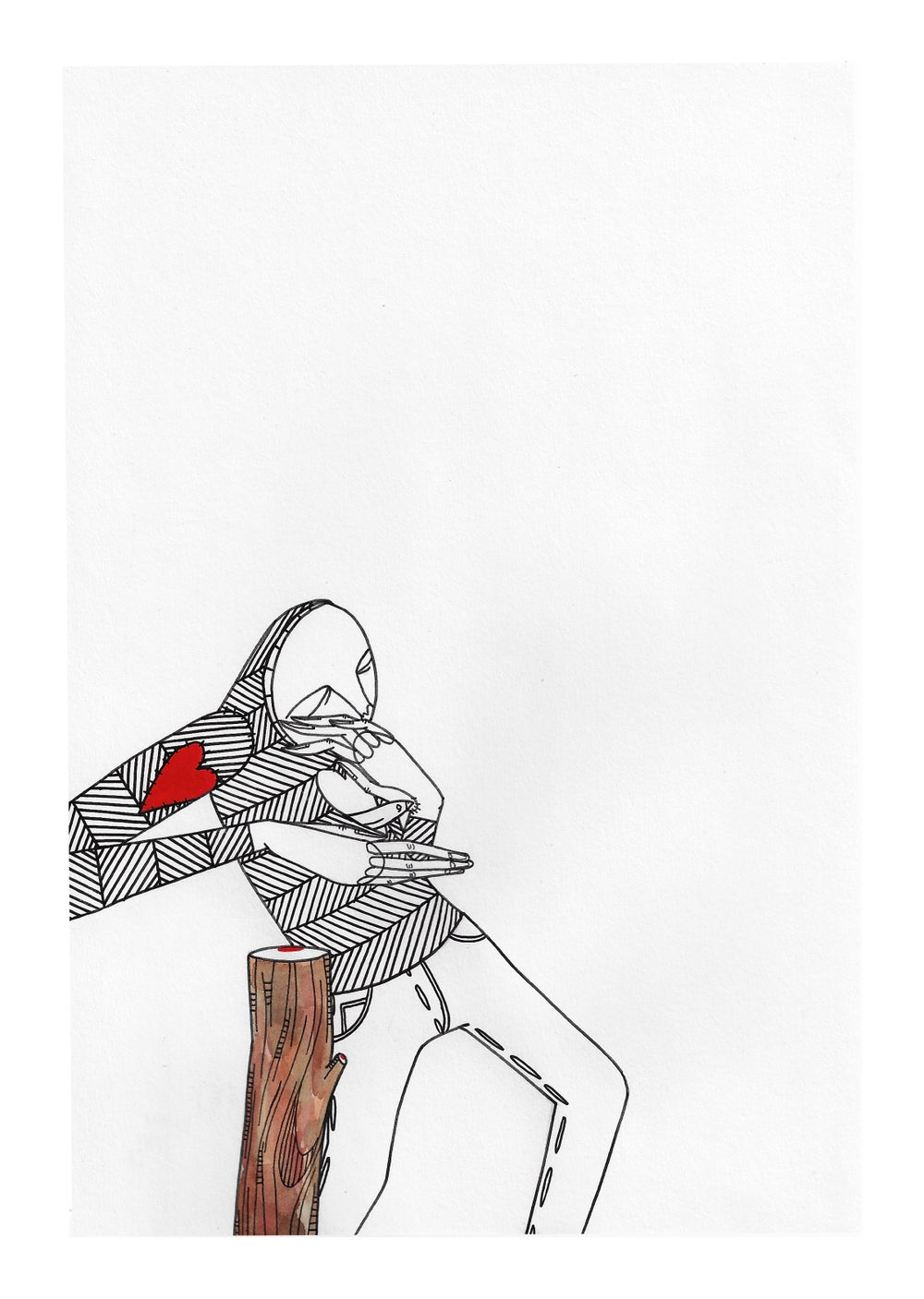 Image of 'Sheltered' (Original Artwork)