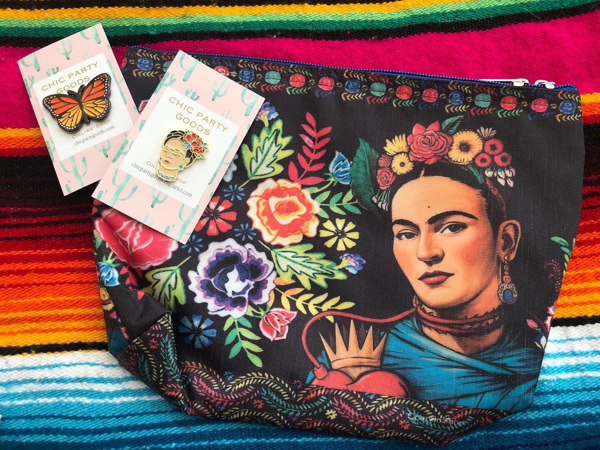 Image of Viva Frida Mesh make up bag