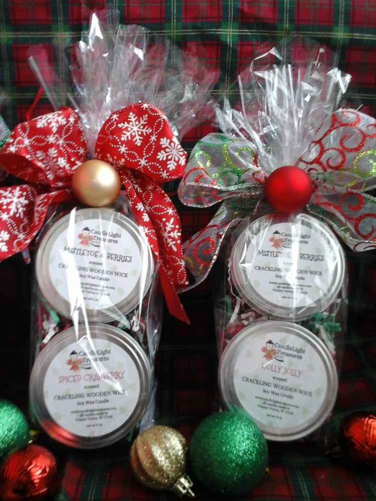 Image of Wooden Wick Candle gift sets