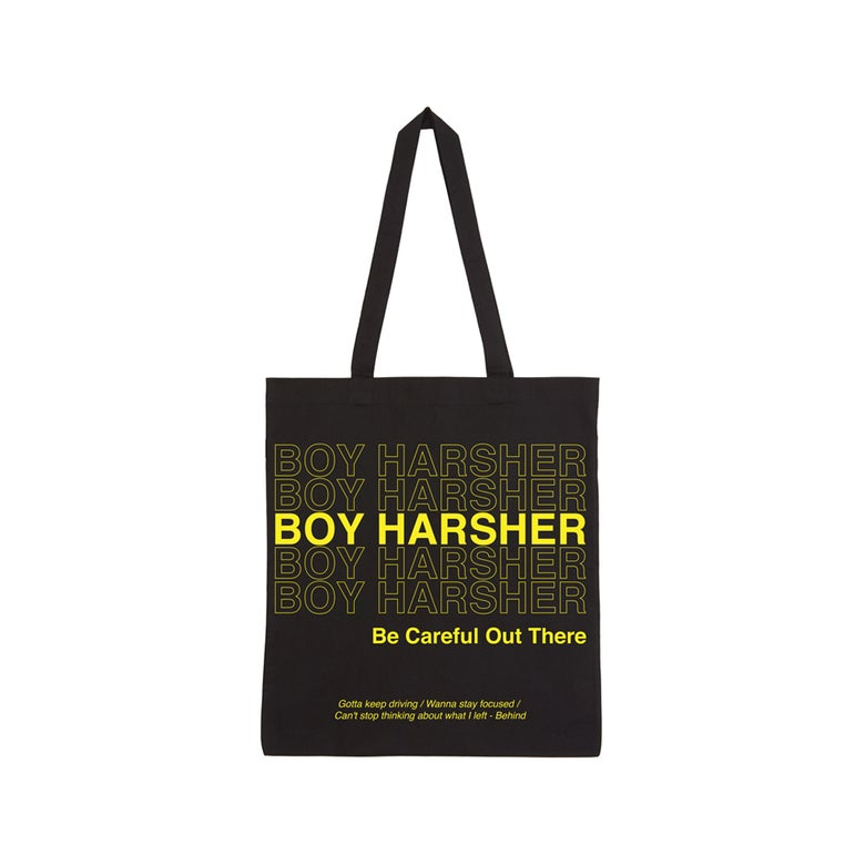 Image of BE CAREFUL OUT THERE 100% Organic Tote bag