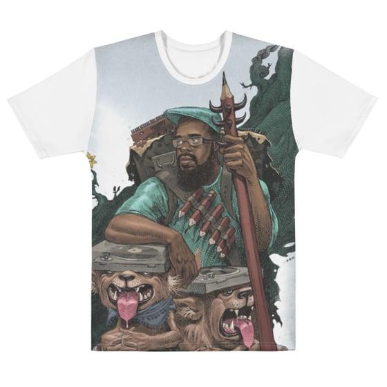 Image of J-Live 9000 Miles Dan Lish T-Shirt