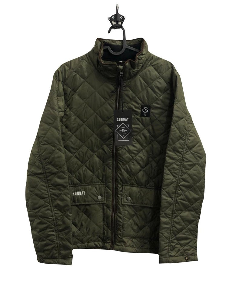 """Image of Sunday """"Doncaster"""" Winter Jacket Green"""