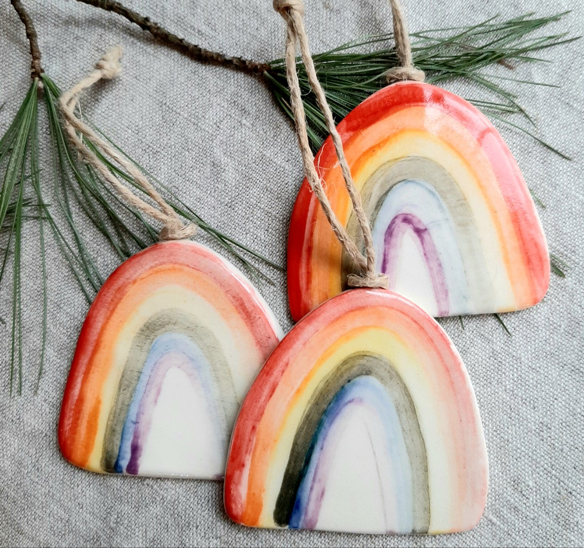 Image of Rainbow Ornament