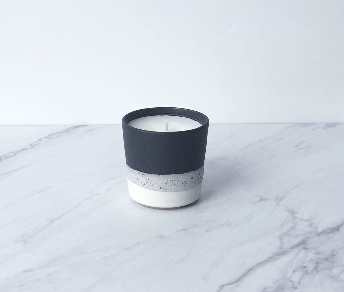 Image of TABAC, coconut wax scented candle in ceramic cup